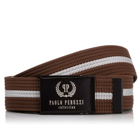 MĘSKI PASEK PARCIANY PAOLO PERUZZI PW-15-PP