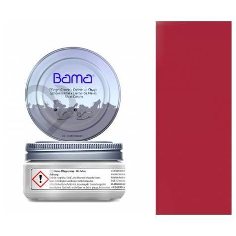 KREM DO OBUWIA PASTA CIEMNA CZERWIEŃ BAMA 50 ML 99015/DARKRED