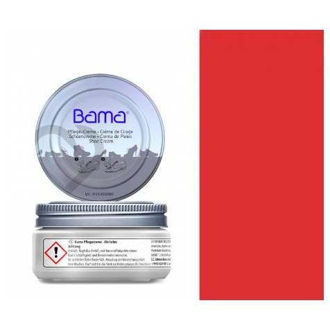 KREM DO OBUWIA PASTA CZERWONA BAMA 50 ML 99015/RED