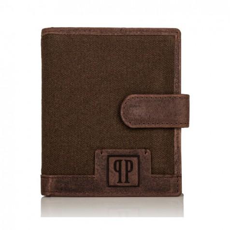 PORTFEL MĘSKI PAOLO PERUZZI RFID T-04-BR