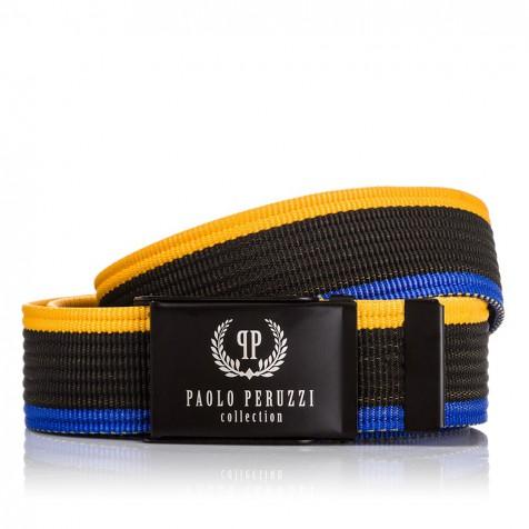 KOLOROWY PASEK PARCIANY PAOLO PERUZZI PW-07-PP-115CM